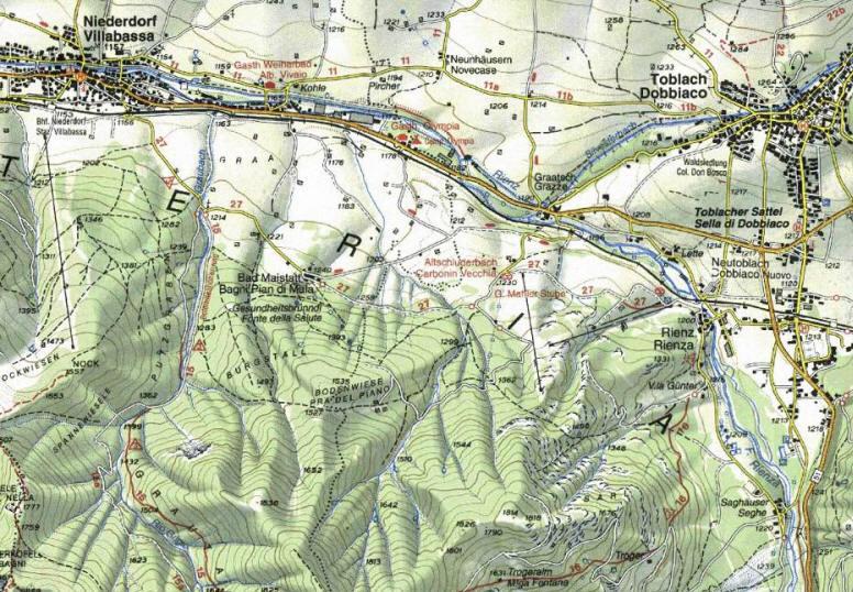 Cartina Topografica.Introduzione Alla Cartografia